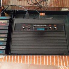 Videojuegos y Consolas: ATARI 2600 + 11 JUEGOS + 4 MANDOS. Lote 194181668