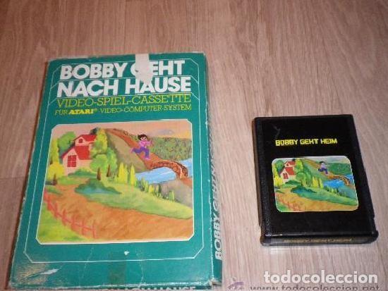 ATARI 2600 JUEGO BOBBY GEHT NACH HAUSE EN CAJA (Juguetes - Videojuegos y Consolas - Atari)