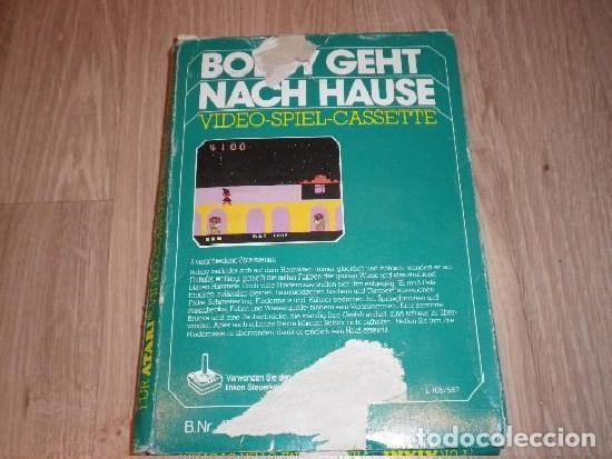 Videojuegos y Consolas: ATARI 2600 JUEGO BOBBY GEHT NACH HAUSE EN CAJA - Foto 2 - 194529961