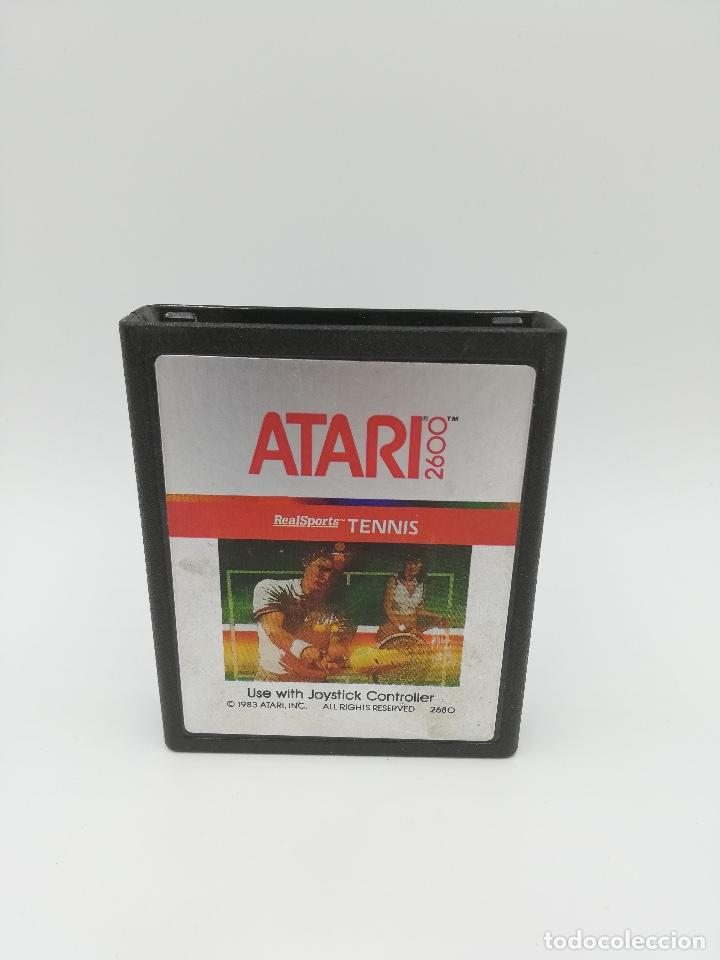 REAL SPORTS TENNIS ATARI 2600 (Juguetes - Videojuegos y Consolas - Atari)