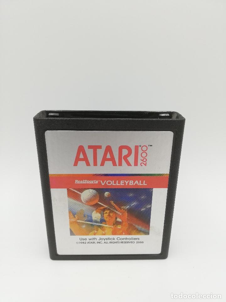 REAL SPORTS VOLLEYBALL ATARI 2600 (Juguetes - Videojuegos y Consolas - Atari)