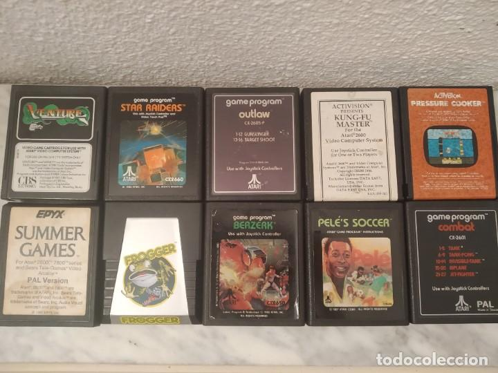 LOTE JUEGOS ATARI (Juguetes - Videojuegos y Consolas - Atari)