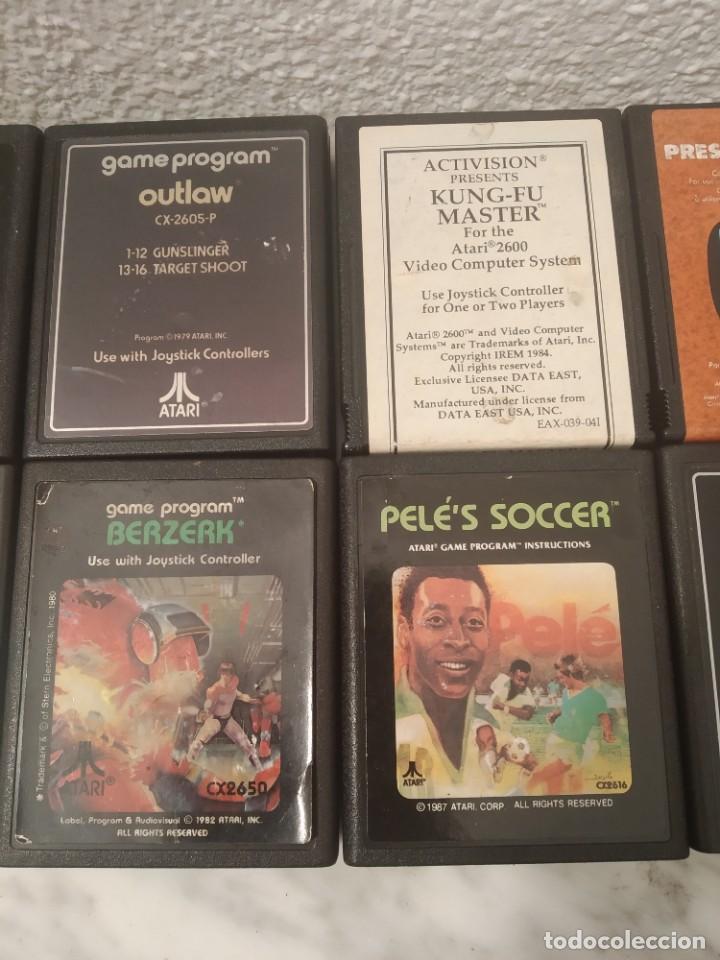 Videojuegos y Consolas: Lote juegos Atari - Foto 3 - 195210318
