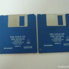 Videojuegos y Consolas: EL ORO DE LOS AZTECAS / ATARI ST / STE / RETRO VINTAGE / DISCO - DISQUETE. Lote 197754353