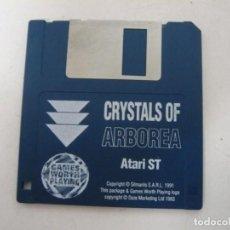 Videojuegos y Consolas: CRYSTALS OF ARBOREA / ATARI ST / STE / RETRO VINTAGE / DISCO - DISQUETE. Lote 197754505