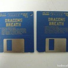Videojuegos y Consolas: DRAGONS BREATH / ATARI ST / STE / RETRO VINTAGE / DISCO - DISQUETE. Lote 197754550