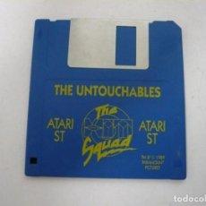 Videojuegos y Consolas: LOS INTOCABLES / ATARI ST / STE / RETRO VINTAGE / DISCO - DISQUETE. Lote 197754678