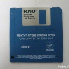 Videojuegos y Consolas: MONTY PYTHONS CIRCING FLYUS / ATARI ST / STE / RETRO VINTAGE / DISCO - DISQUETE. Lote 197754807