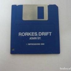 Videojuegos y Consolas: RORKES DRIFT / ATARI ST / STE / RETRO VINTAGE / DISCO - DISQUETE. Lote 197754873