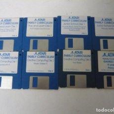 Videojuegos y Consolas: ATARI FAMILY CURRICULUM / ATARI ST / STE / RETRO VINTAGE / DISCO - DISQUETE. Lote 197755068