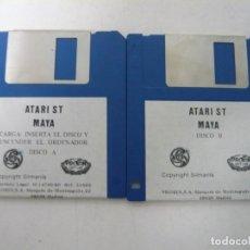 Videojuegos y Consolas: MAYA / ATARI ST / STE / RETRO VINTAGE / DISCO - DISQUETE. Lote 197755158
