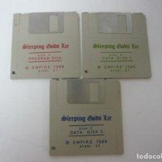 Videojuegos y Consolas: SLEEPING GODS LIE / ATARI ST / STE / RETRO VINTAGE / DISCO - DISQUETE. Lote 197755272