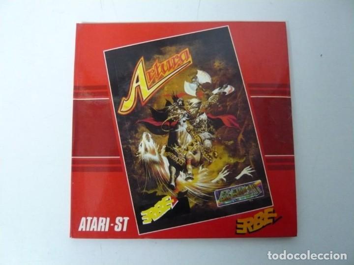 ARTURA / SOBRE CARTÓN / ATARI ST / STE / RETRO VINTAGE / DISCO - DISQUETE (Juguetes - Videojuegos y Consolas - Atari)