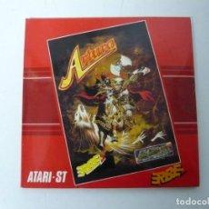 Videojuegos y Consolas: ARTURA / SOBRE CARTÓN / ATARI ST / STE / RETRO VINTAGE / DISCO - DISQUETE. Lote 197755443
