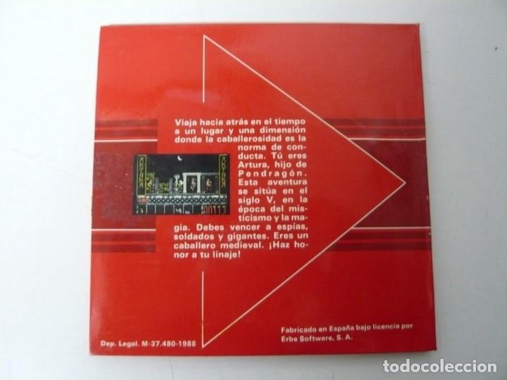 Videojuegos y Consolas: Artura / Sobre Cartón / Atari ST / STE / Retro Vintage / Disco - Disquete - Foto 2 - 197755443