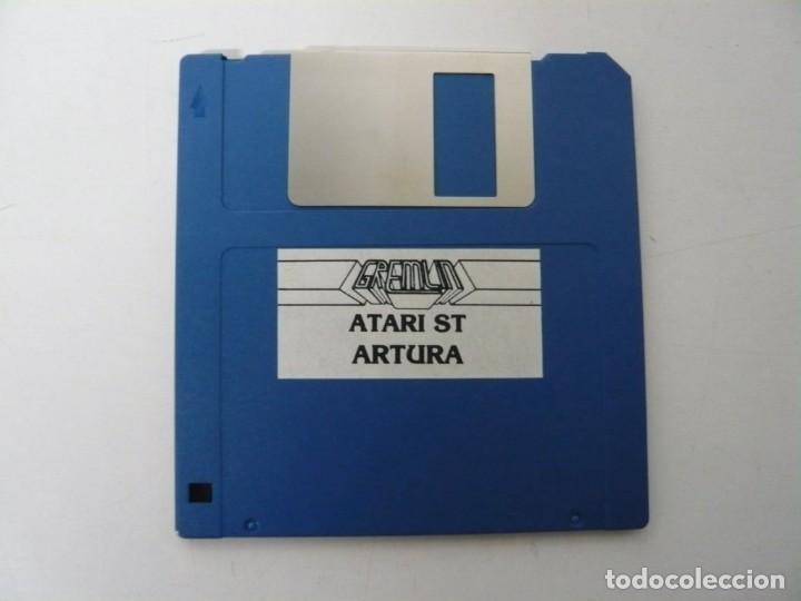 Videojuegos y Consolas: Artura / Sobre Cartón / Atari ST / STE / Retro Vintage / Disco - Disquete - Foto 6 - 197755443