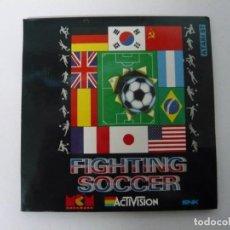 Videojuegos y Consolas: FIGHTING SOCCER / SOBRE CARTÓN / ATARI ST / STE / RETRO VINTAGE / DISCO - DISQUETE. Lote 197755545