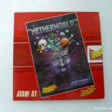 Videojuegos y Consolas: NETHERWORLD / SOBRE CARTÓN / ATARI ST / STE / RETRO VINTAGE / DISCO - DISQUETE. Lote 197755636