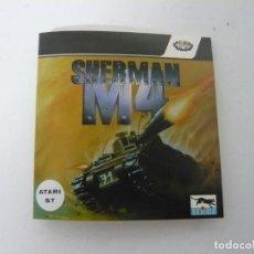 Videojuegos y Consolas: SHERMAN M4 / SOBRE CARTÓN / ATARI ST / STE / RETRO VINTAGE / DISCO - DISQUETE. Lote 197755826