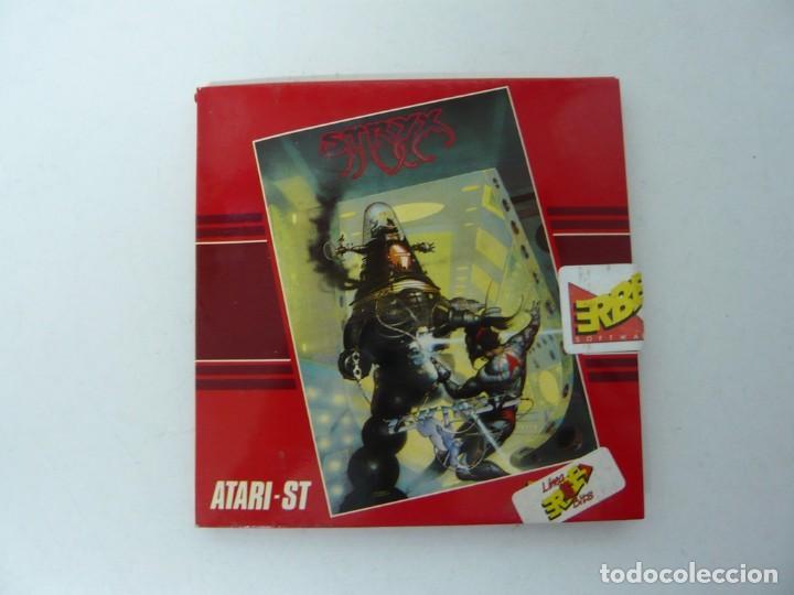 STRIX / SOBRE CARTÓN / ATARI ST / STE / RETRO VINTAGE / DISCO - DISQUETE (Juguetes - Videojuegos y Consolas - Atari)