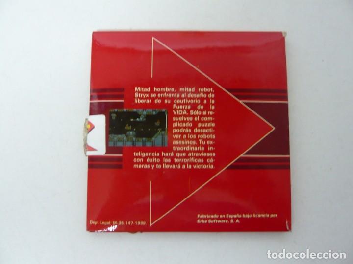 Videojuegos y Consolas: STRIX / Sobre Cartón / Atari ST / STE / Retro Vintage / Disco - Disquete - Foto 2 - 197755901