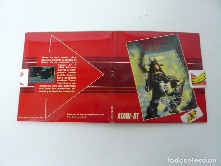 Videojuegos y Consolas: STRIX / Sobre Cartón / Atari ST / STE / Retro Vintage / Disco - Disquete - Foto 3 - 197755901