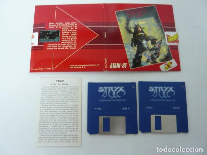 Videojuegos y Consolas: STRIX / Sobre Cartón / Atari ST / STE / Retro Vintage / Disco - Disquete - Foto 5 - 197755901