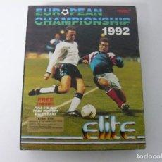 Videojuegos y Consolas: EUROPEAN CHAMPIONSHIP 1992 / CAJA CARTÓN / ATARI ST / STE / RETRO VINTAGE / DISCO - DISQUETE. Lote 197755977