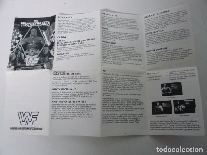 Videojuegos y Consolas: WWF Wreste Mania / Caja Cartón / Atari ST / STE / Retro Vintage / Disco - Disquete - Foto 4 - 197756205
