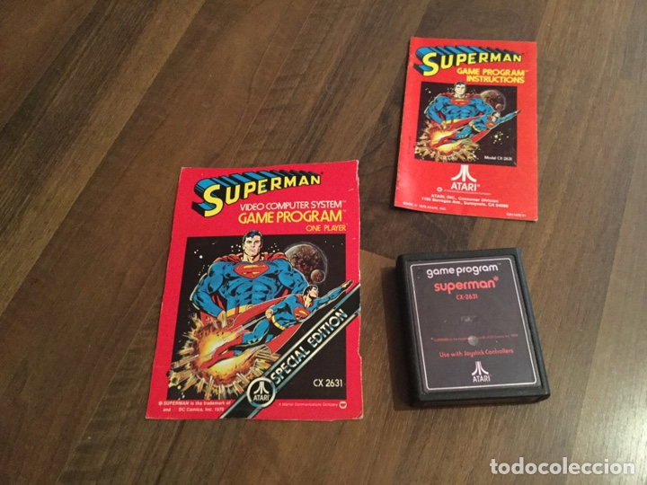 Videojuegos y Consolas: LOTE ATARÍ VÍDEO COMPUTER SYSTEM - 9 JUEGOS + LIBROS DE INSTRUCCIONES VARIOS Y ACCESORIOS - Foto 2 - 198760818