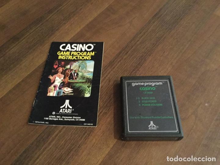 Videojuegos y Consolas: LOTE ATARÍ VÍDEO COMPUTER SYSTEM - 9 JUEGOS + LIBROS DE INSTRUCCIONES VARIOS Y ACCESORIOS - Foto 5 - 198760818