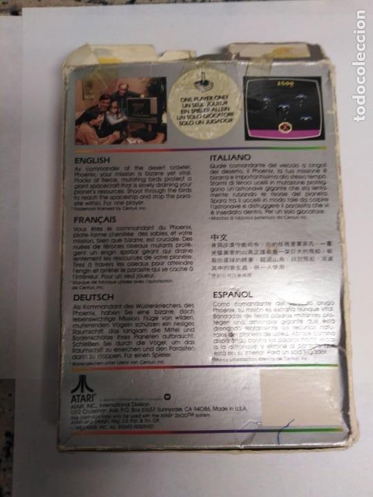 Videojuegos y Consolas: Juego Atari Phoenix - Foto 4 - 199250950