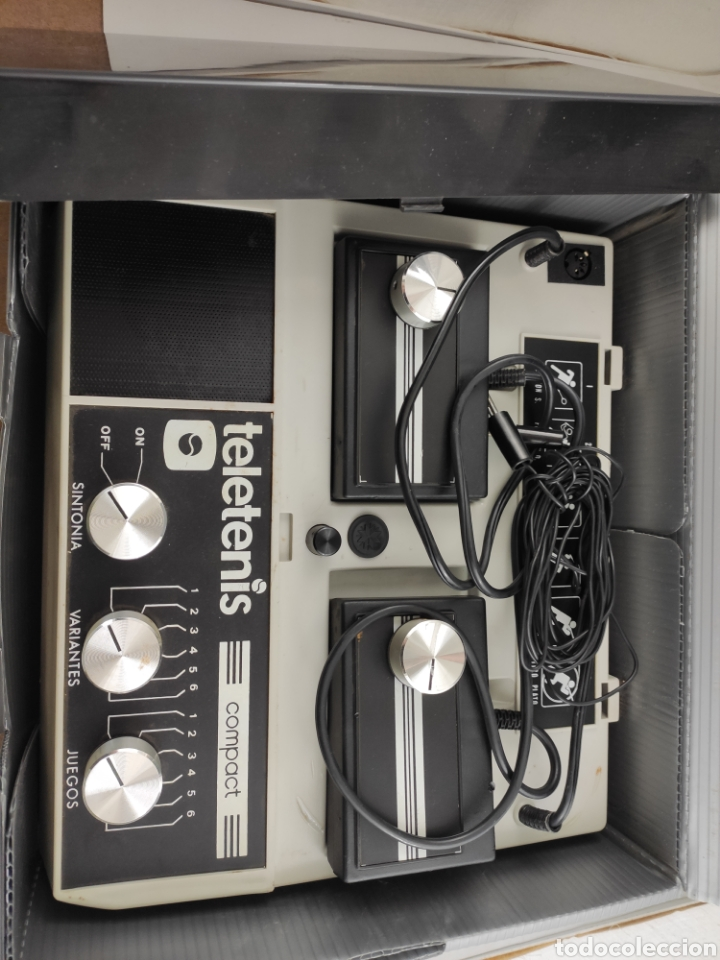 Videojuegos y Consolas: Consola teletenis vintage - Foto 3 - 199337093