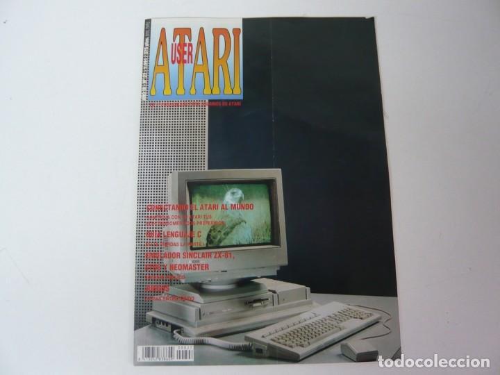 ATARI USER, AÑO III, Nº 27, 1991 - ATARI ST / STE - REVISTA INFORMÁTICA (Juguetes - Videojuegos y Consolas - Atari)