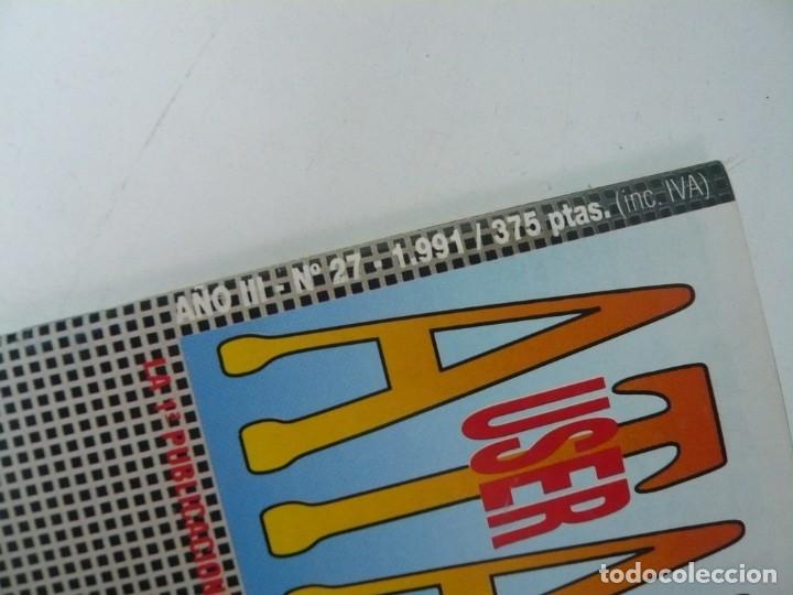 Videojuegos y Consolas: Atari USER, año III, nº 27, 1991 - Atari ST / STE - Revista informática - Foto 2 - 199692091
