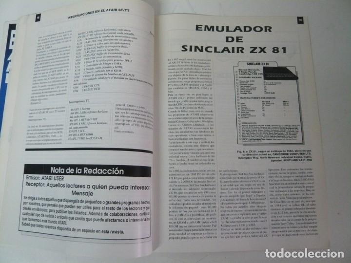 Videojuegos y Consolas: Atari USER, año III, nº 27, 1991 - Atari ST / STE - Revista informática - Foto 5 - 199692091