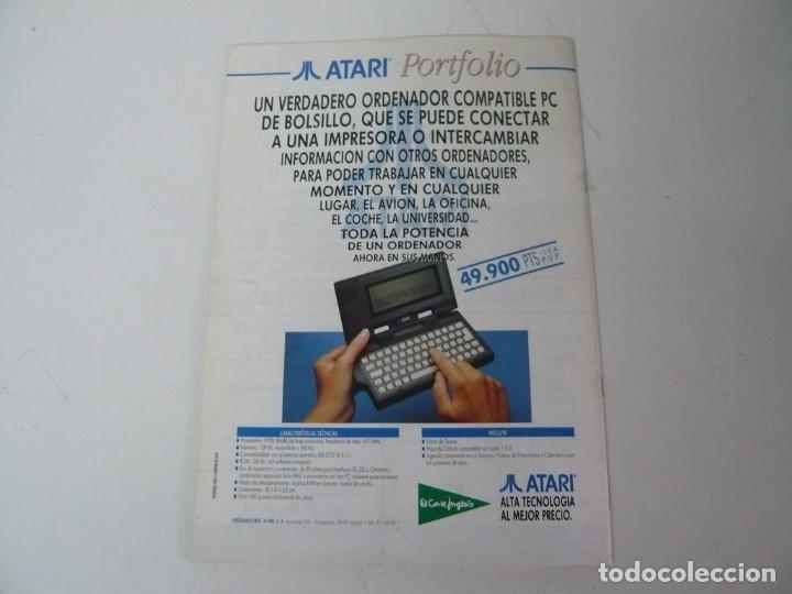 Videojuegos y Consolas: Atari USER, año III, nº 27, 1991 - Atari ST / STE - Revista informática - Foto 9 - 199692091