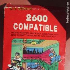 Videojuegos y Consolas: 2600 COMPATIBLE , JUEGO PARA CONSOLA ATARI EMDURL / KEISTON , KEPER/INCA , GOLD/TANK ETC . Lote 199773416