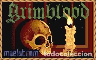 Videojuegos y Consolas: Grimblood [Maelstrom Games] 1990 [Virgin / 16blitz] [ATARI ST] - Foto 3 - 41470914