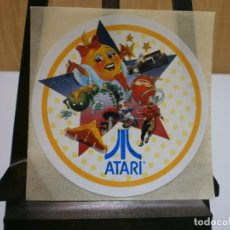 Videojuegos y Consolas: PEGATINA ORIGINAL AÑOS 80 ATARI. Lote 199997037
