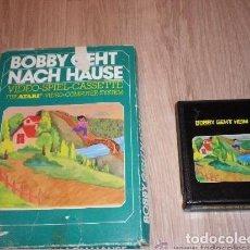 Videojuegos y Consolas: ATARI 2600 JUEGO BOBBY GEHT NACH HAUSE EN CAJA. Lote 201216467