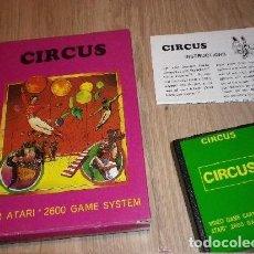 Videojuegos y Consolas: ATARI JUEGO CIRCUS COMPLETO. Lote 201216515