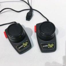 Videojuegos y Consolas: JOYSTICK MANDOS PADDLE ORIGINALES ATARI 2600, PERFECTO ESTADO. Lote 202794130