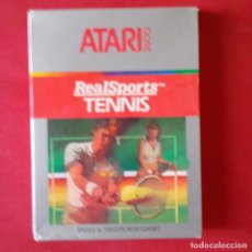 Videojuegos y Consolas: ATARI 2600/ CX2680 REALSPORTS TM TENNIS. SINGLE & TWO PLAYER GAMES. COMPLETO. Lote 203029746