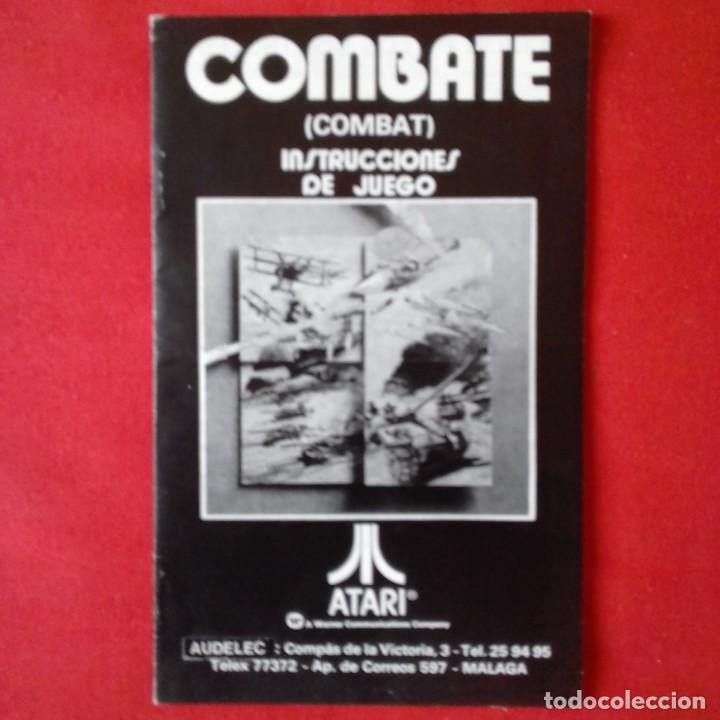 Videojuegos y Consolas: ATARI CX2601 COMBAT TWO PLAYERS 27 VIDEO GAMES. COMPLETO - Foto 4 - 203031107