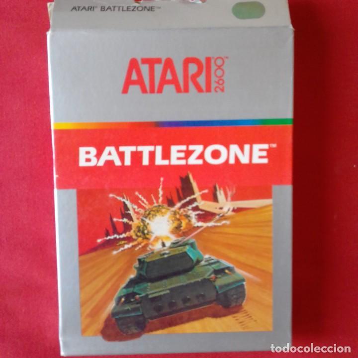ATARI 2600/ CX2681 BATTLEZONE ONE PLAYER ONLY. COMPLETO (Juguetes - Videojuegos y Consolas - Atari)