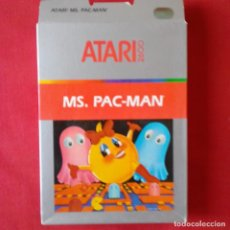 Videojuegos y Consolas: ATARI 2600/ CX2675 MS. PAC-MAN ONE PLAYER ONLY 4 VIDEO GAMES. COMPLETO. Lote 203032648