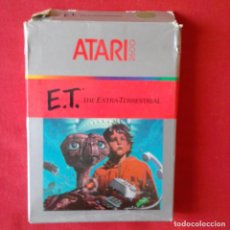 Videojuegos y Consolas: ATARI 2600/ CX2674 E.T. THE EXTRA-TERRESTRIAL. ONE PLAYER ONLY 1 VIDEO GAME. COMPLETO. Lote 203033016