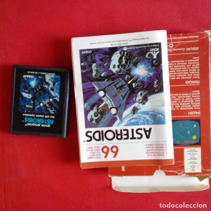 Videojuegos y Consolas: ATARI 2600/ CX2649 ASTEROIDS TM 66 VIDEO GAME. COMPLETO - Foto 2 - 203033816