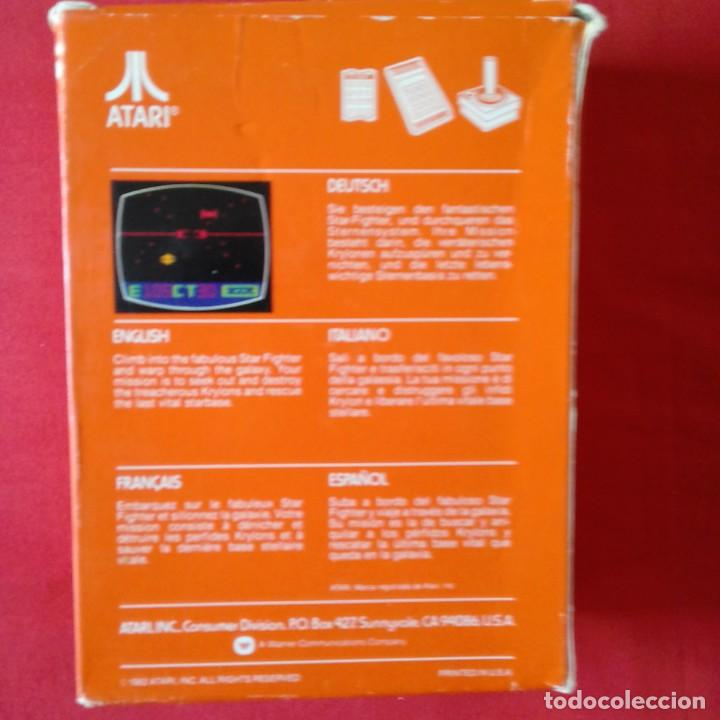 Videojuegos y Consolas: ATARI 2600/ CX2660-1 STAR RAIDERS WITH VIDEO TOUCH PAD. ONE PLAYER ONLY 4 VIDEO GAMES. COMPLETO - Foto 2 - 203034140
